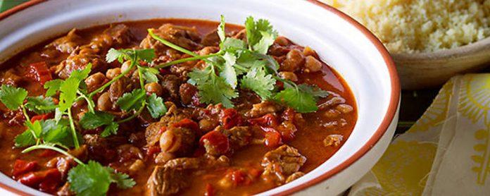 خوراک گوشت مراکشی
