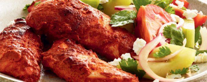 طرز تهیه مرغ تندوری