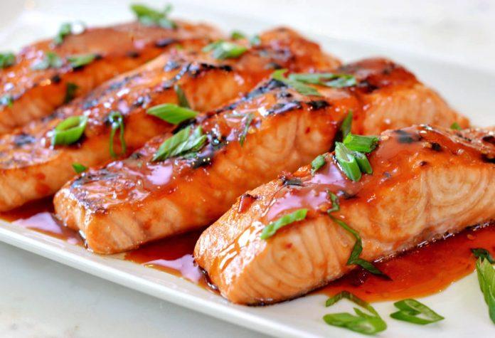 ماهی سالمون تایلندی