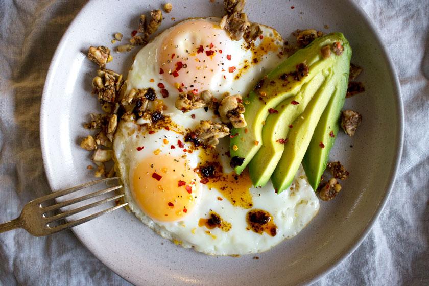 صبحانه با پروتئین بالا