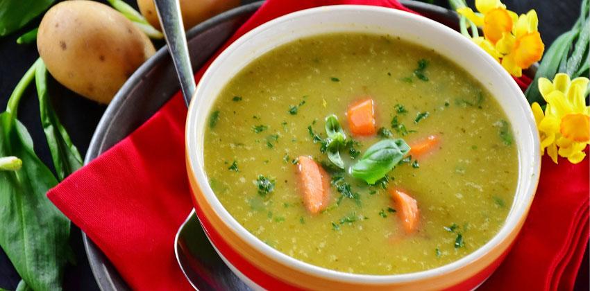 سوپ به لاغری کمک می کند