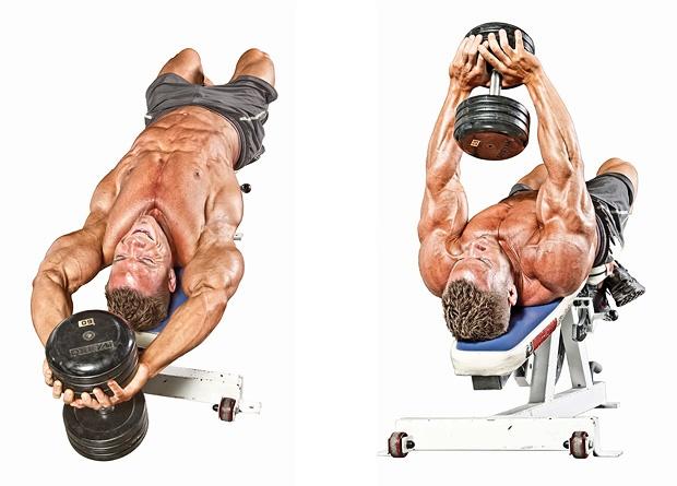 حرکت پلاور برای عضلات زیر بغل
