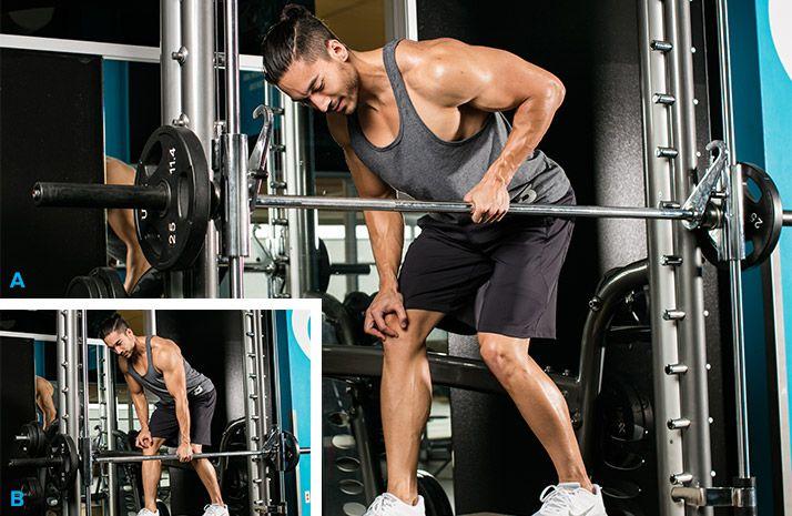 حرکت پارویی برای عضلات پشت حجیم