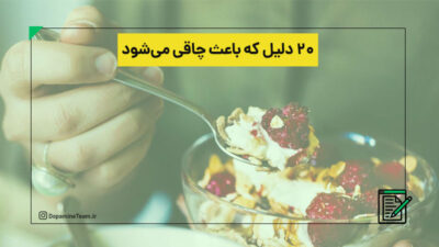 ۲۰ دلیل که باعث چاقی می شود